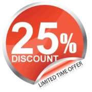 Get 25% Off On Any Service With Us