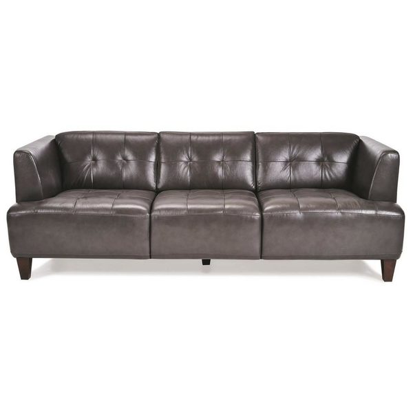 Sears Cau D Ax Lodi 83 Italian Leather Sofa Redflagdeals Com