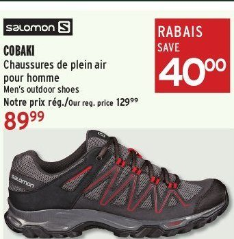 Men's Salomon Outdoor Cobaki Atmosphere Shoes w0qCWdE