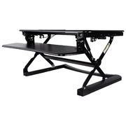 Contemporary Ergonomic Sit-Stand Desktop Workstation Stand - $329.99 ($68.00 off)