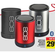 808 Canz Bluetooth Wireless Speakers  - $29.97 ($30.00 off)