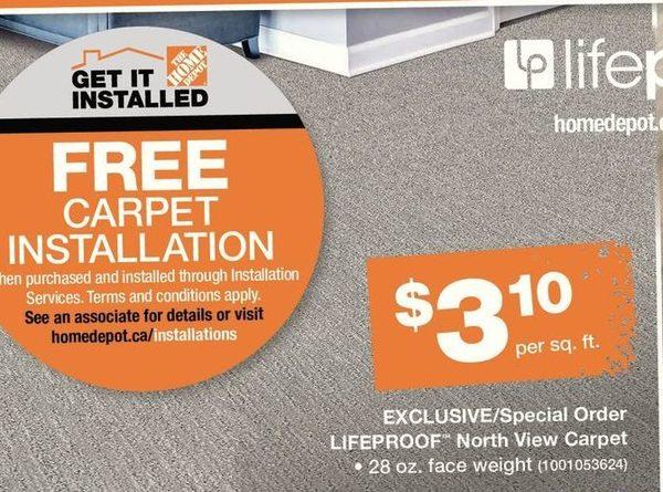 Free Carpet Installation Home Depot Homelooker