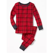 2-piece Plaid Sleep Set For Toddler & Baby - $17.50 ($2.44 Off)