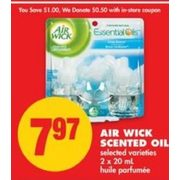 Air Wick Scented Oil - $7..97