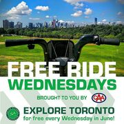 Bike Share Toronto Free Ride Wednesdays: FREE Bike Rentals Every Wednesday in June 2018