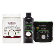 Bulk Barn: Nutiva Organic Virgin Coconut Oil, Organic Liquid Mct Oil