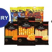 Black Diamond Natural Cheese Sticks Or Cheesestrings  - $5.99