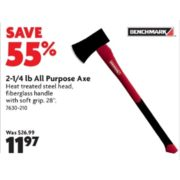 2-1/4 lb All Purpose Axe - $11.97 (55% Off)