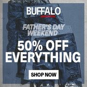 Buffalo Jeans: 50% off Everything