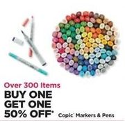 Coplc Markers & Pens  - BOBO 50% off