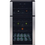 GE 29-Bottle Dual Zone Wine Cooler  - $299.99 ($200.00 off)