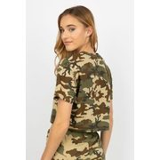 Womens Camo Crop Tee - $4.00 ($5.99 Off)