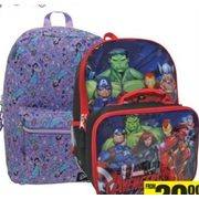 All Licensed Backpacks - From $20.00