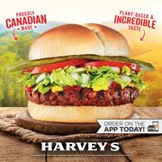 Harvey's Digital Coupons: Lightlife Plant-Based Burger Combo $7.49, Original Burger with Poutine $6.99, Chicken Wrap $5.49 + More