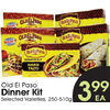 Old El Paso Dinner Kit - $3.99