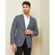 Slim Fit Navy Crosshatch Blazer - $119.95 ($109.95 Off)