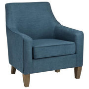 Fabric And Wood Lounge Chair - $230.99 ($99.00 Off)