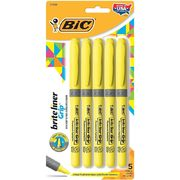 Bic Brite Liner Grip Highlighters - $3.00 (36% off)