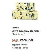 Castello Extra Creamy Danish Blue Loaf - 25% off