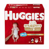 Huggies Little Snugglers or Little Movers Plus Diapers - $9.50 off