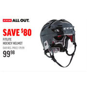 CCM All Out Fitlie Hockey Helmet - $99.98 ($80.00 off)