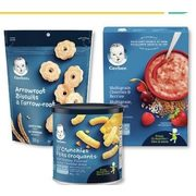 Gerber Snacks or Cereals - 25% off