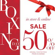Rickis.com Boxing Day Sale On Now: Save 50% On Select Items