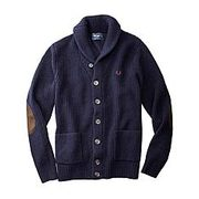 Fred Perry Navy Wool Shawl Collar Sweater - $126.99 (50% off)